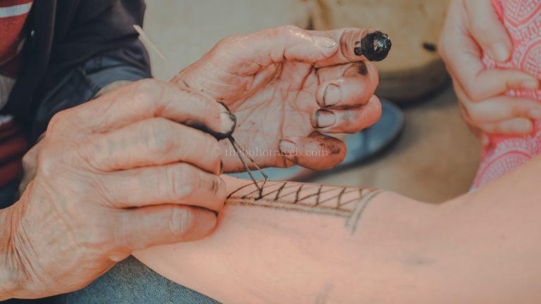 Apo Whang-od tattooing