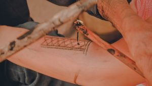 The Boho Travels Apo Whang-od tattooing