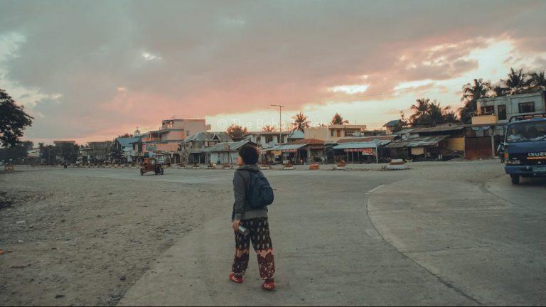Tara walking around in Tabuk, Kalinga