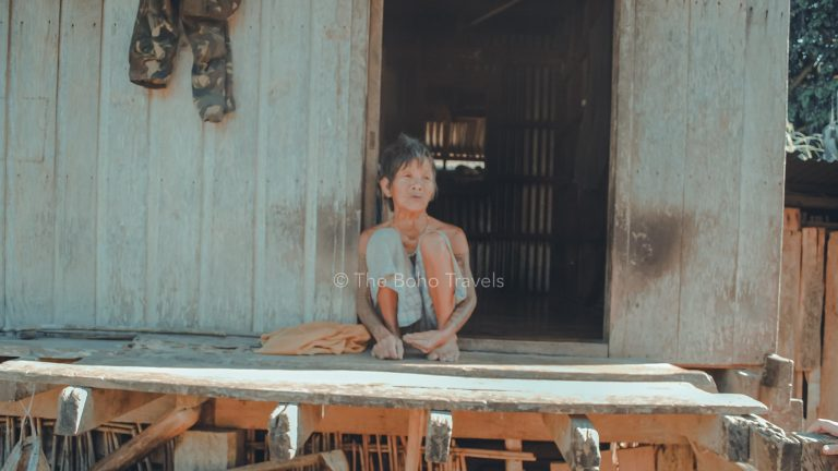Tattooed Woman in Tinglayan, Kalinga