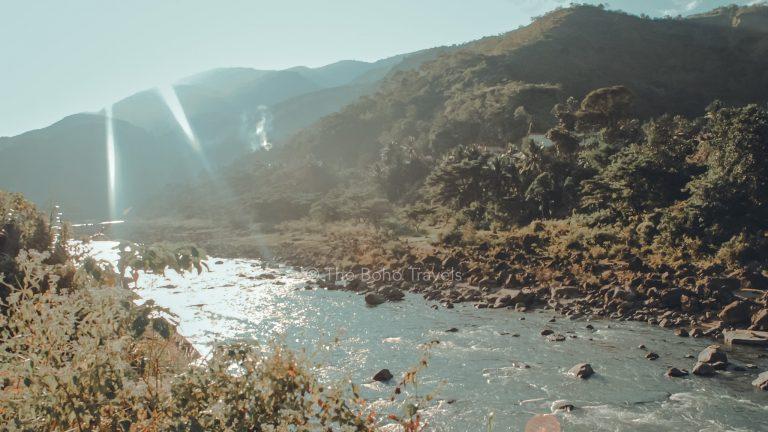 Chico River seen from Tinglayan, Kalinga