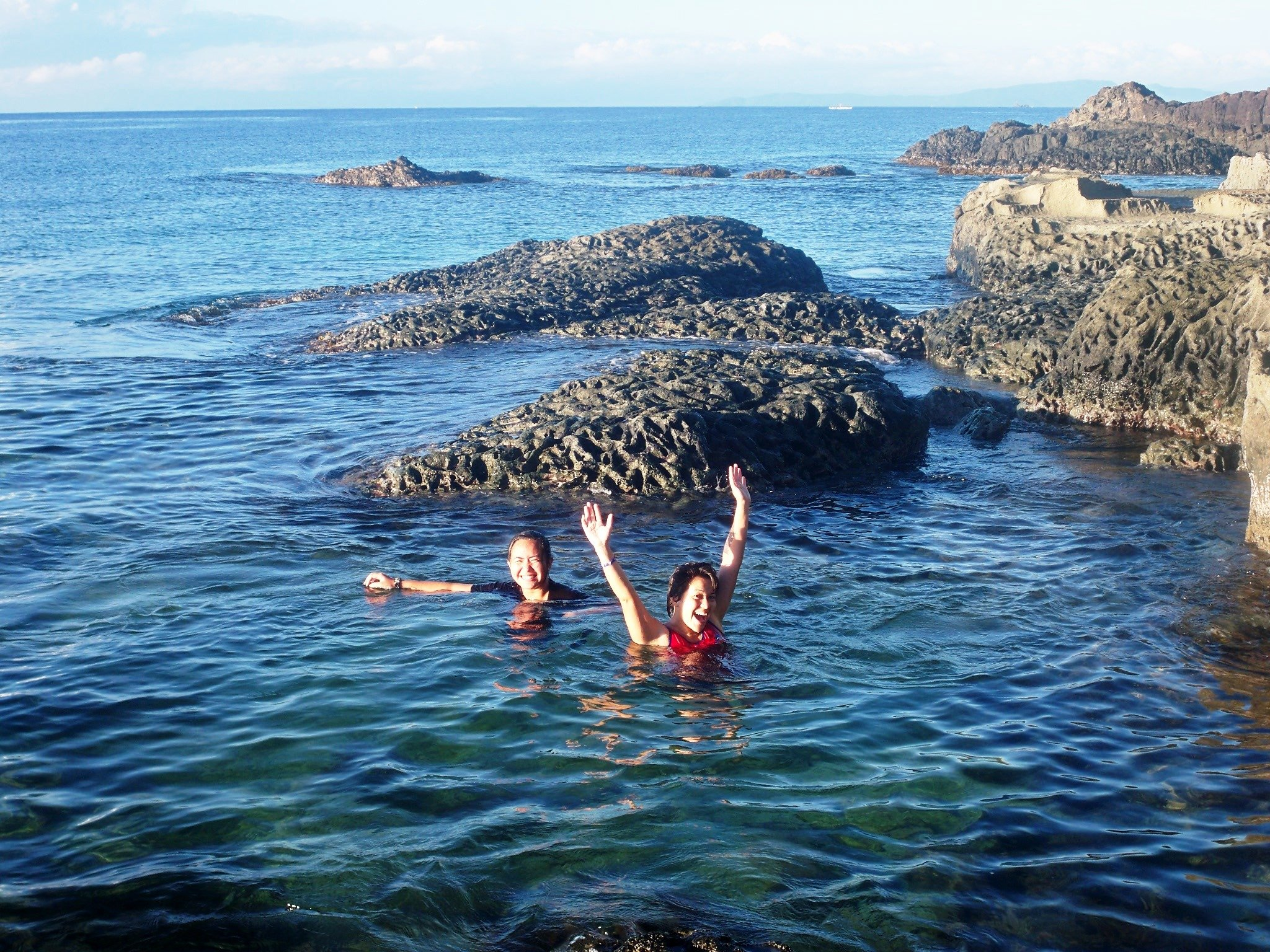Project Breaking Down Barriers:  A Rocky Beach in Marabut, Samar