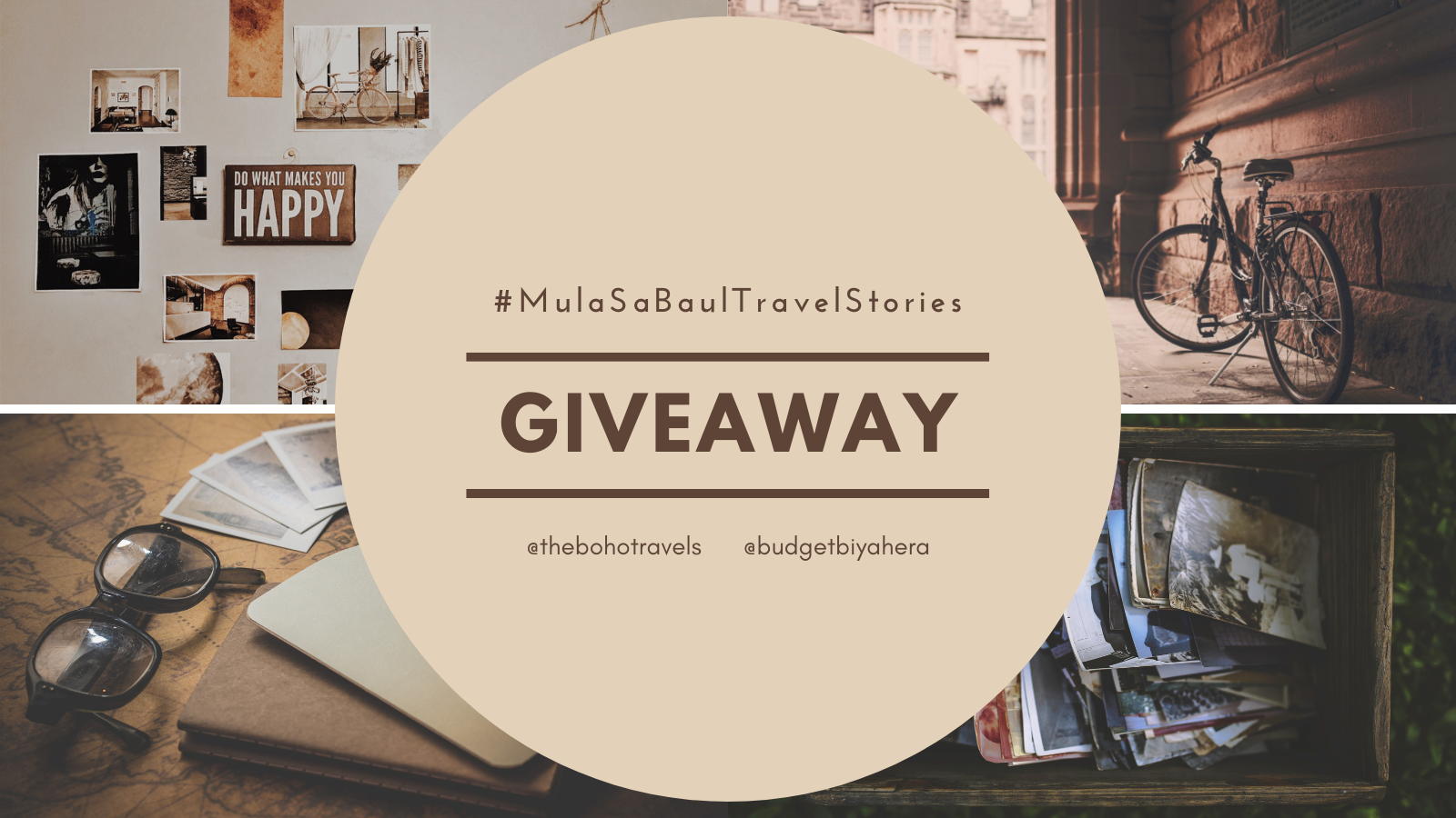 Mula Sa Baul Travel Stories Instagram Giveaway Details